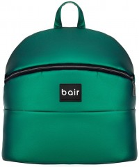 Коляска 2 в 1  Bair Crystal 100% кожа BC-35 зелёный перламутр - черный