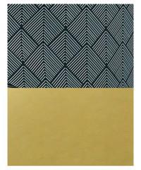 Коляска 2 в 1  Bexa Light FL-16 черно-серые ромб (золотая кожа) - серый прогулочный блок