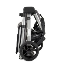 Коляска прогулочная EL CAMINO MЕ 1053-2 Dynamic Onyx серый с черным