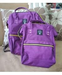 Комплект сумка рюкзак для мам+ребенок Anello ФИОЛЕТ