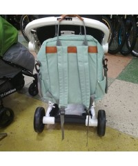Сумка рюкзак для мам LeQueen  с крючками для коляски
