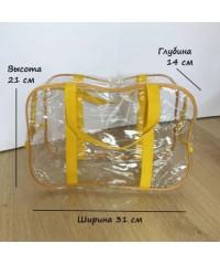 Набор прозрачных сумок в роддом
