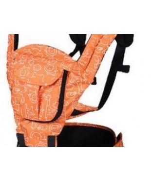 Эргохипсит-трансформер 2 в 1 MiniBaby оранжевый