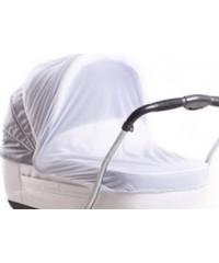 Москитная сетка белая для колясок универсальный