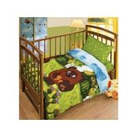 Детский сменный постельный комплект 3 элемента