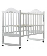 Детская кровать Babyroom Дина D101 белая