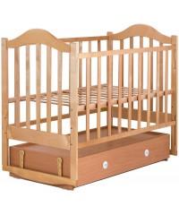 Детская кровать Babyroom Дина D301 маятник лакированная с ящиком