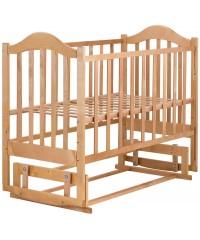 Детская кровать Babyroom Дина D204 маятник лакированная