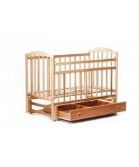 Детская кровать Чайка с опускающейся боковиной с ящиком
