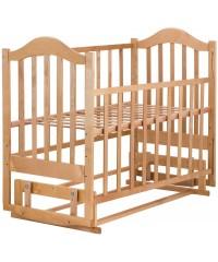 Детская кровать Babyroom Дина D201 натуральная