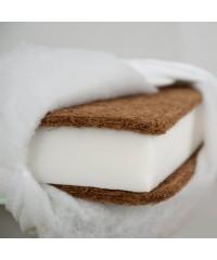 Матрас Babyroom BKPK-11 (кокос, поролон, кокос) 11 см белый