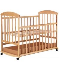Детская кровать Наталка с ящиком светлая