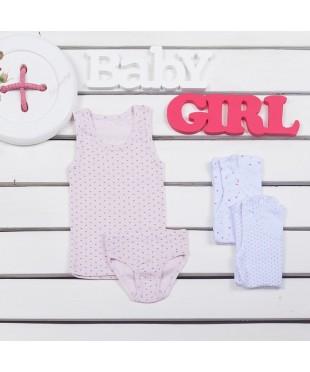 Комплект нижнего белья для девочки 215-1007