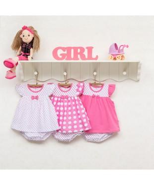Боди-платье (комбинезон) для девочки 172-117