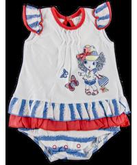 Боди-юбка для девочки 8Т010