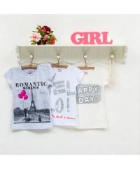 Футболка (блузка) для девочки 914-416