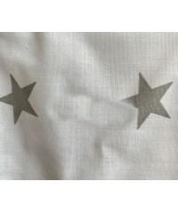 Защита для детской кроватки, Звездочка серая