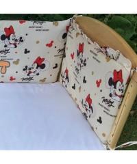 Защита для детской кроватки, Микки Маус