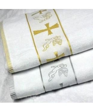Крыжма-полотенце для крещения махровая