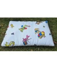 Подушка для новорожденных байковая