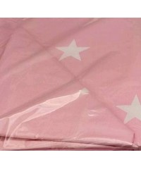 Детский постельный комплект  Звезды на  розовом