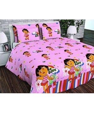 Детский постельный комплект  Даша путешественница