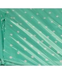 Детский постельный комплект  Горошек на зеленом
