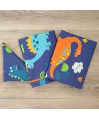 Детский постельный комплект Динозавры
