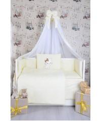 Детский постельный комплект  Кошечка с бантиком