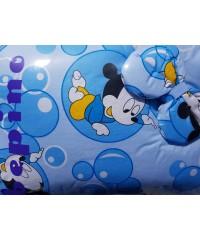 Детский постельный комплект  без балдахина Микки Маус