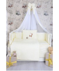 Детский постельный комплект  Мишка со звездой