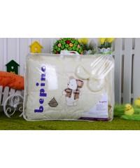 Детский постельный комплект Мишка с корабликом