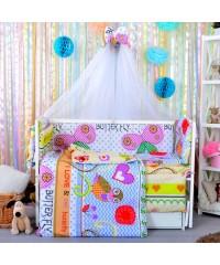 Детский постельный комплект Сова (8 эл)