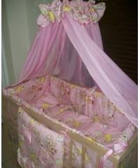 Детский постельный комплект Мишка спят (8 эл)