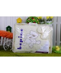 Детский постельный комплект  Мишка с овечкой (8 эл)