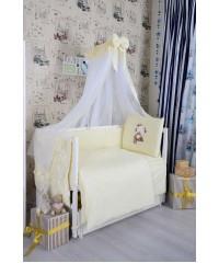 Детский постельный комплект  Мишка девочка