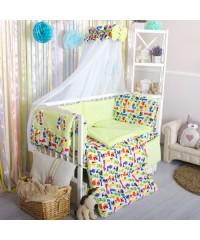 Детский постельный комплект Зверюшки