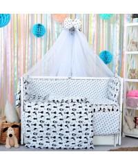 Детский постельный комплект Котики