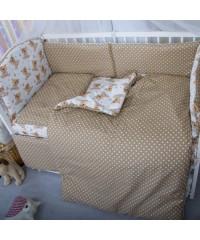 Детский постельный комплект Тедди