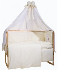 Детский постельный комплект  Зайчик на месяце