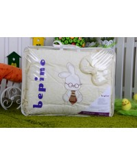 Детский постельный комплект Зайчик (8 эл)