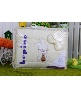Детский постельный комплект Зайчик