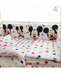 Детский постельный комплект Подушки Микки