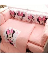 Детский постельный комплект Подушки Минни