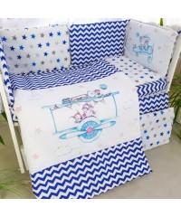 Детский постельный комплект Подушки Акварель Пилот