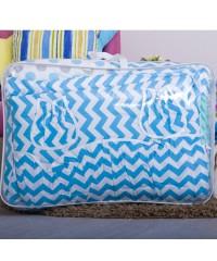 Детский постельный комплект Плюш-подушки голубой